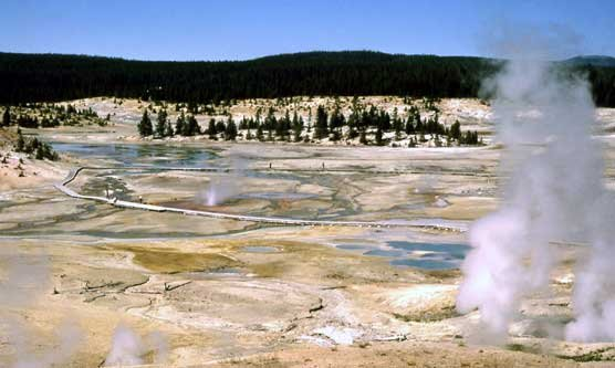 File Photo: National Parlk Service; Norris Geyser Basin