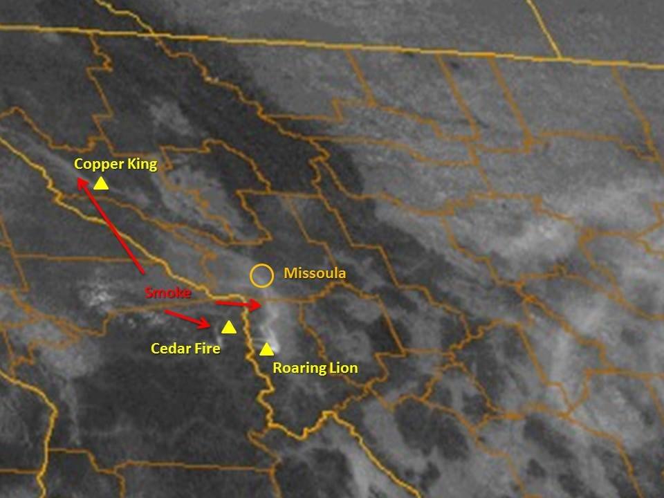 Evacuations expanded ahead of Montana fire
