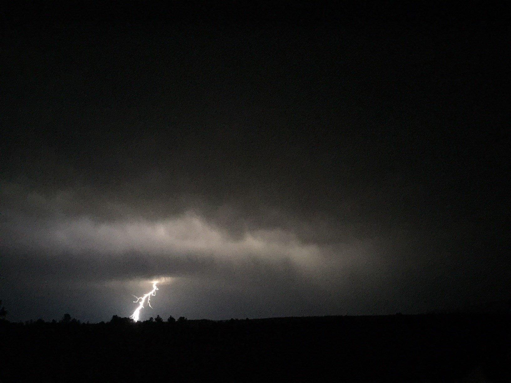 Lightning in Montana