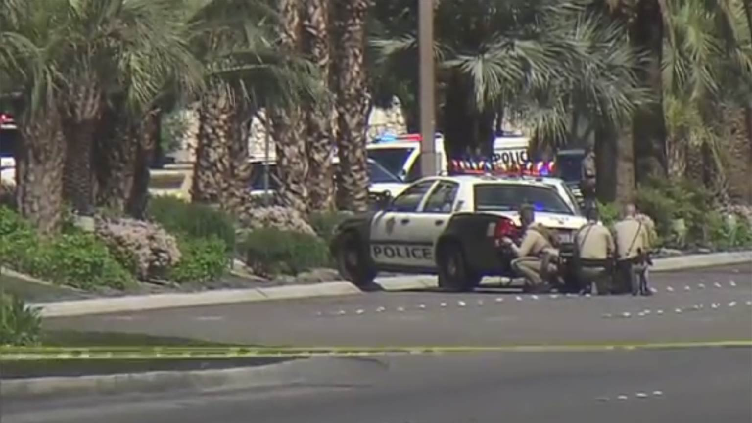 Part Of Las Vegas Strip Closed For Shooting Investigation