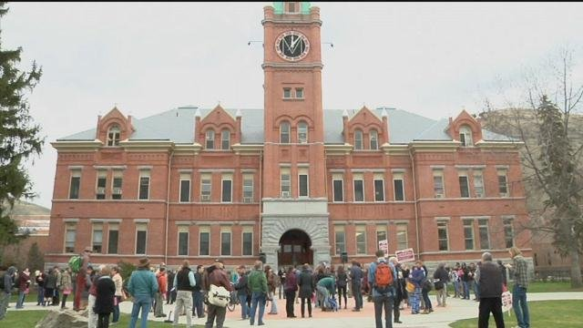 Students, staff protest budget cuts to Montana university system in March