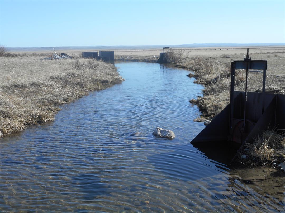 South Cut Bank Creek Canal