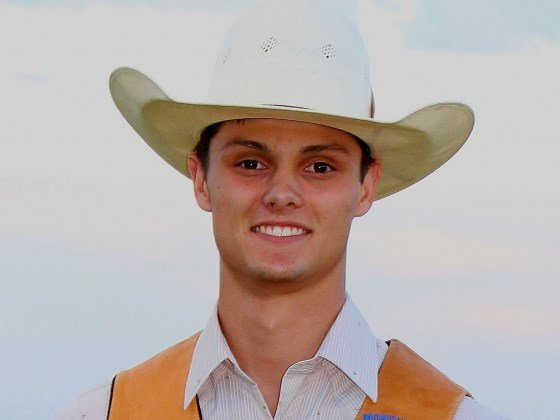 Chase Dougherty, an MSU freshman bull rider from Woodburn, Oregon, was MSU's highest finisher in the recent CNFR.