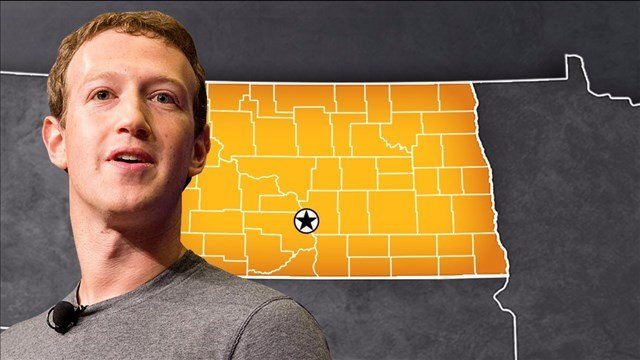 Facebook founder and CEO Mark Zuckerberg visits the Bakken