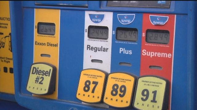 Gas prices surge higher as drivers rush to fill their tanks
