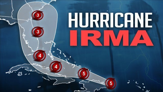 At least seven dead as Hurricane Irma slams Caribbean
