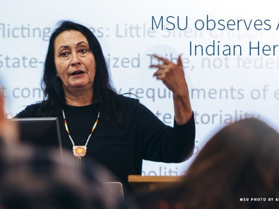 MSU will observe American Indian Heritage Day on Friday, Sept. 22.