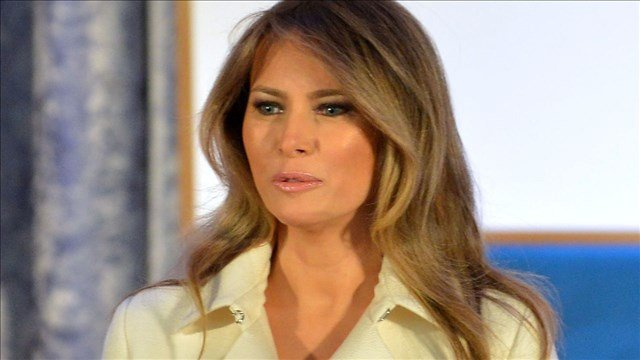 First Lady Melania Trump holds opioid roundtable