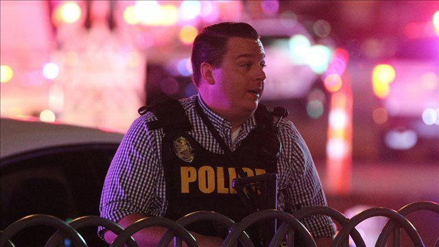 Police on the scene of the Las Vegas Mass Shooting, Photo Date: 10/2/17 (ZUMA Press)