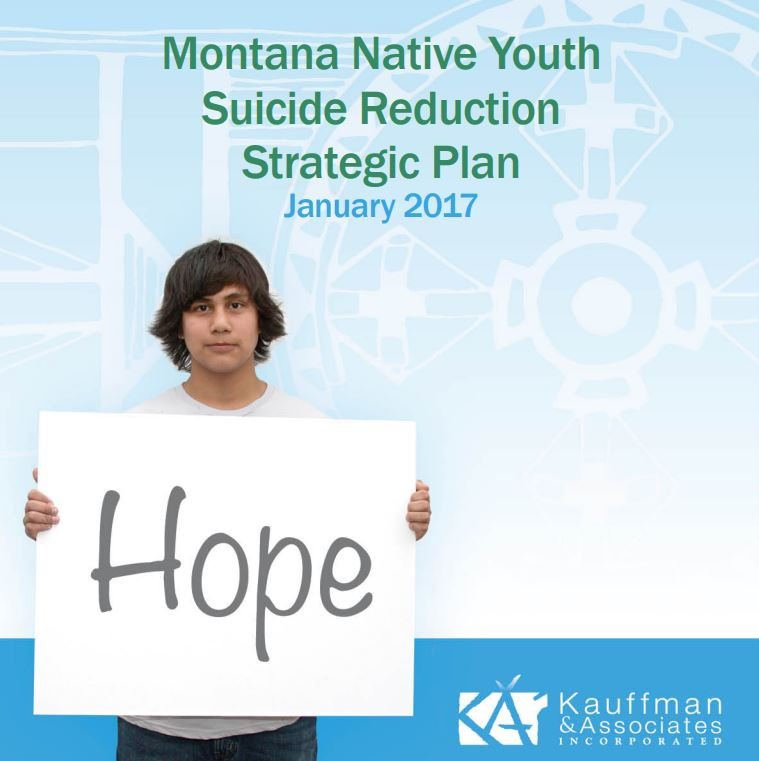 Native Youth Suicide Reduction Plan: http://bit.ly/2kHOmxo