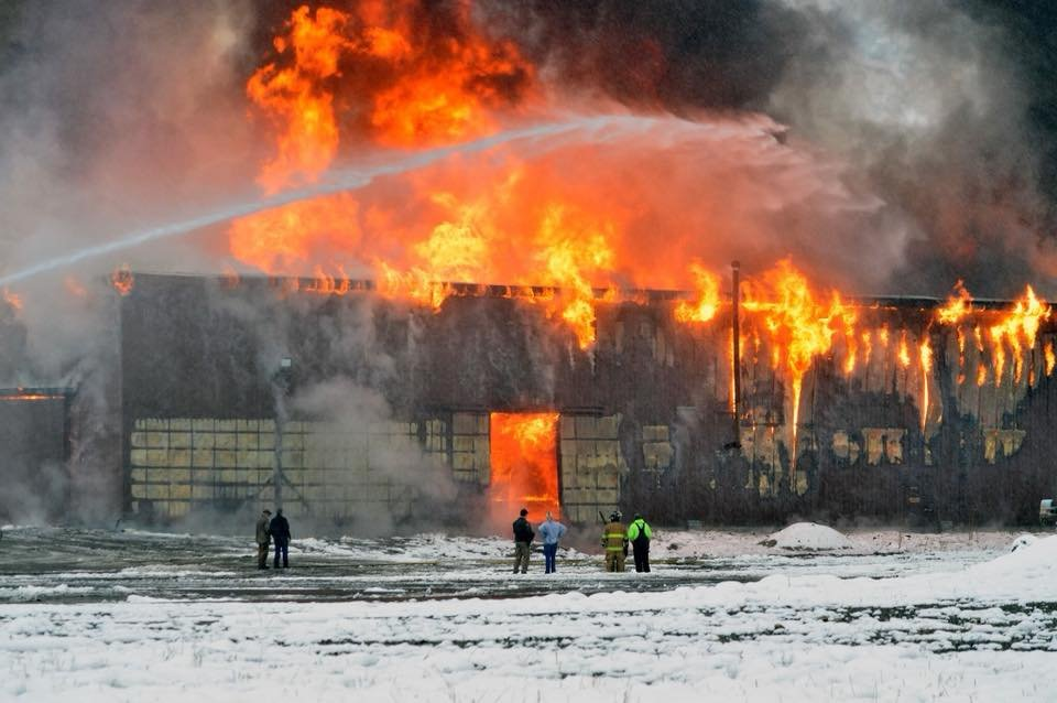 Fire destroys Libby lumber mill where 30 worked