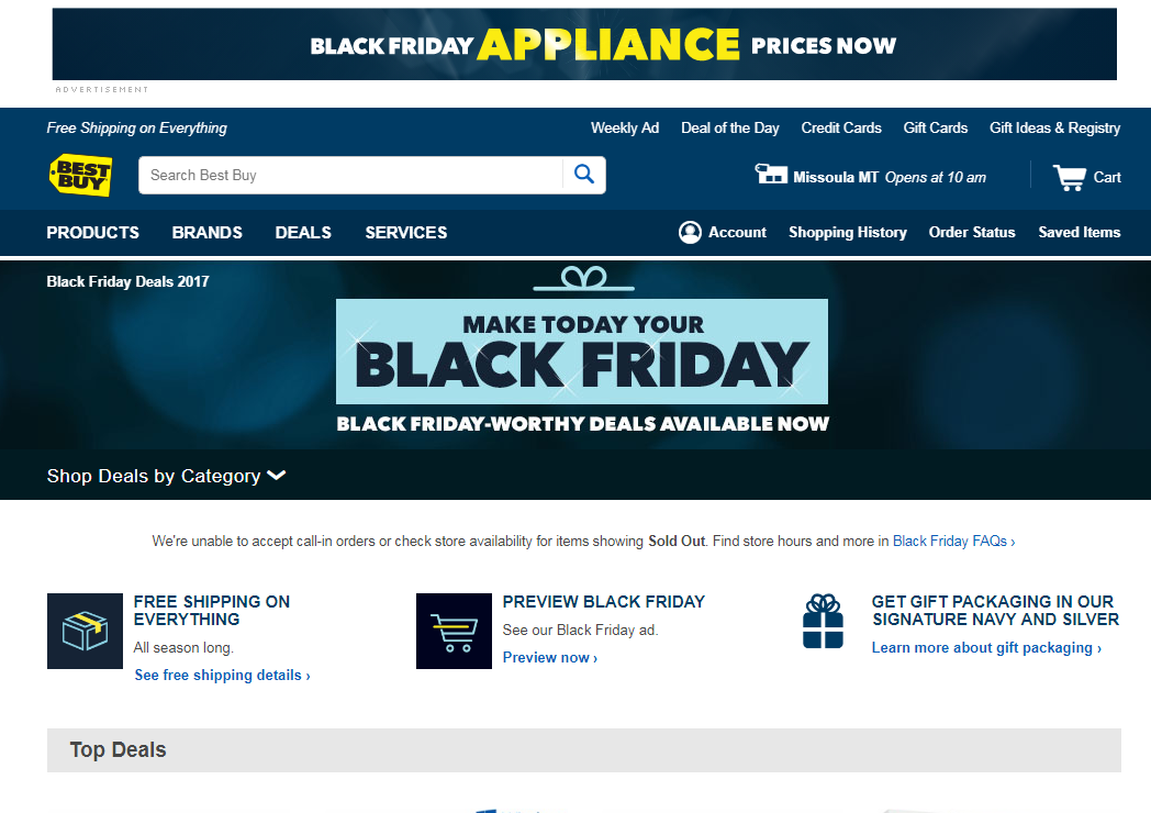 Black Friday is dying