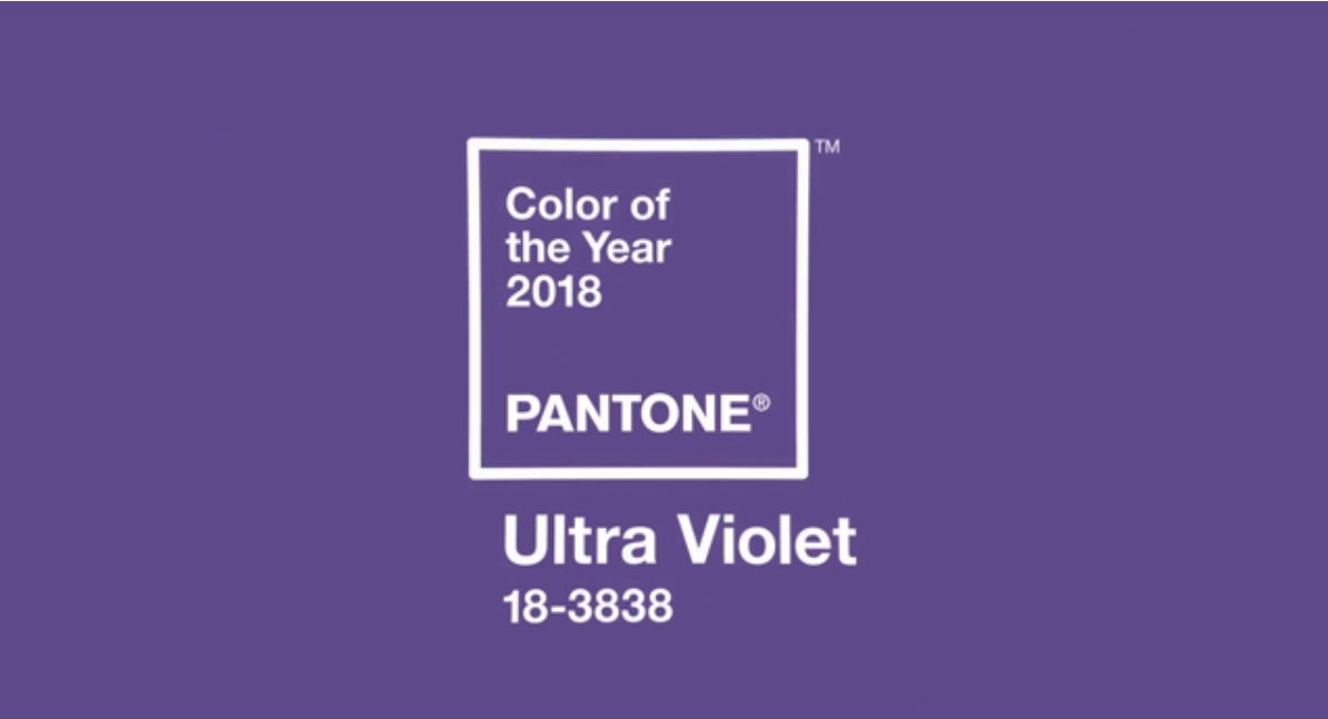 Pantone names Ultra Violet its 2018 Color of the Year