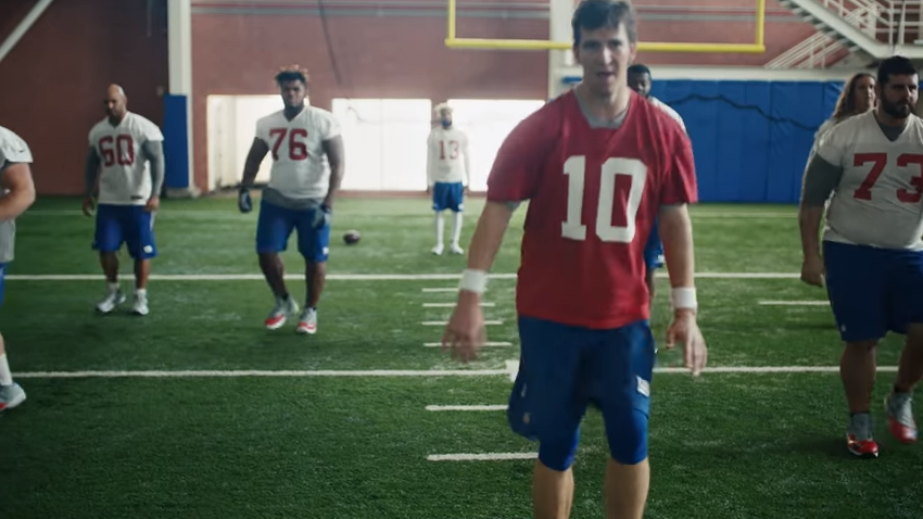 Watch Eli Manning and Odell Beckham Jr. recreate iconic 'Dirty Dancing' scene