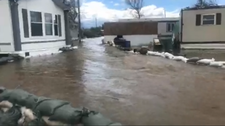 Helena neighborhood flooding in early May