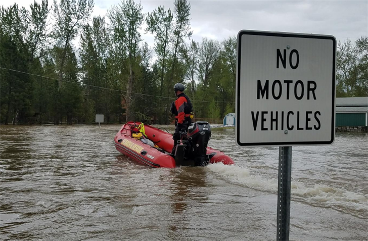 file photo: Tower Street flooding May 9 (courtesy Missoula County)