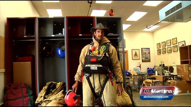 Smokejumper gear (file photo)