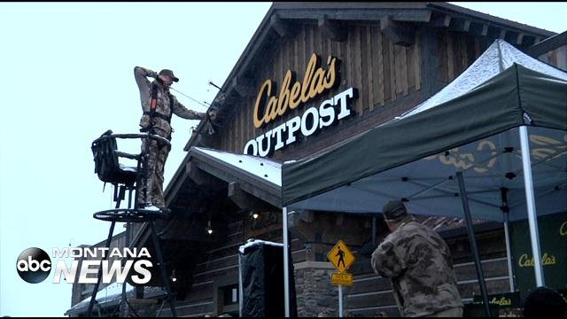 outdoor enthusiasts come in for kalispell 39 s cabela 39 s abc