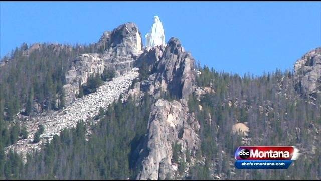 Our Lady Of The Rockies Statue Turned Red After Prank