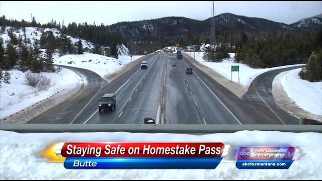 Staying Safe On Homestake Pass Abc Fox Montana Local