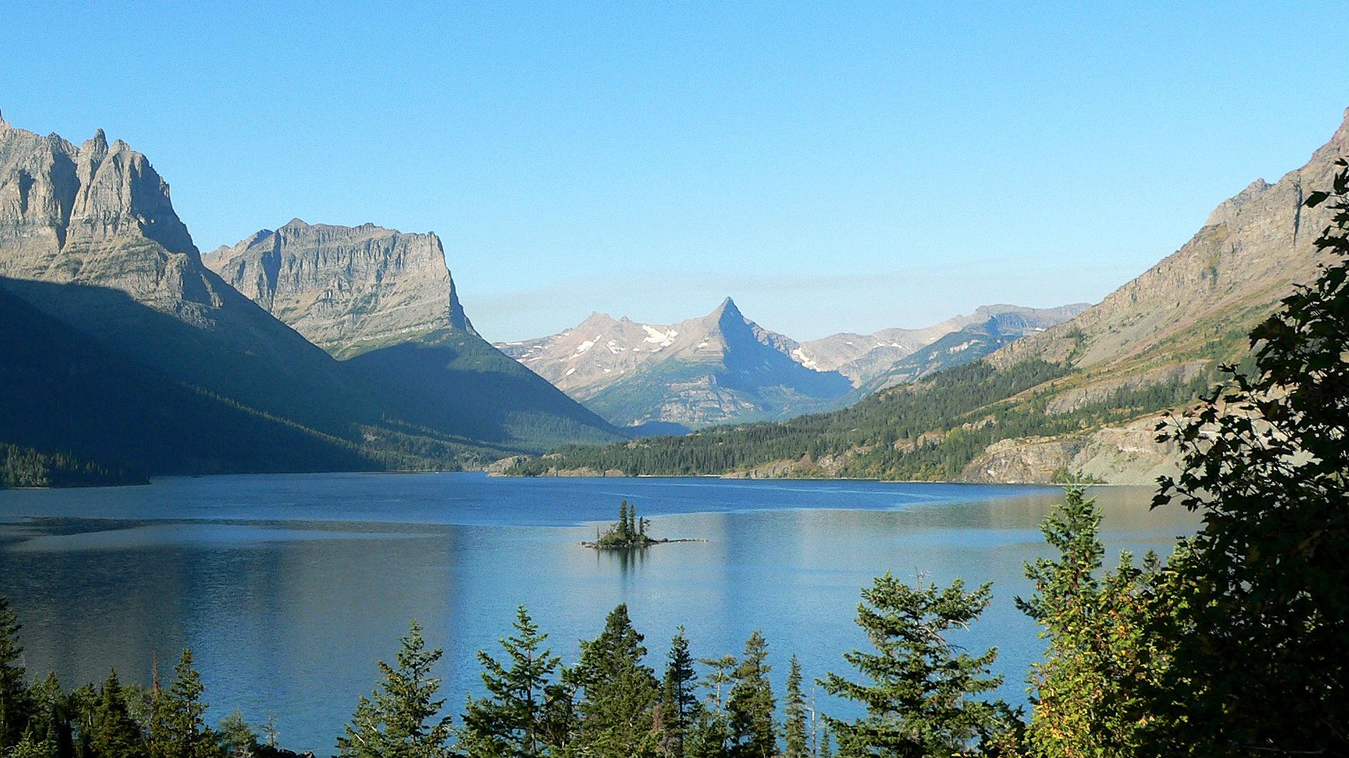 St. Mary Lake in Glacier