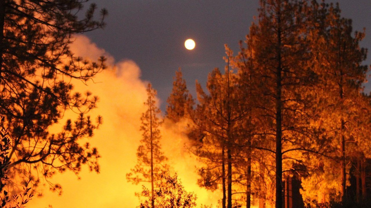 file photo: wildfire in unidentified location