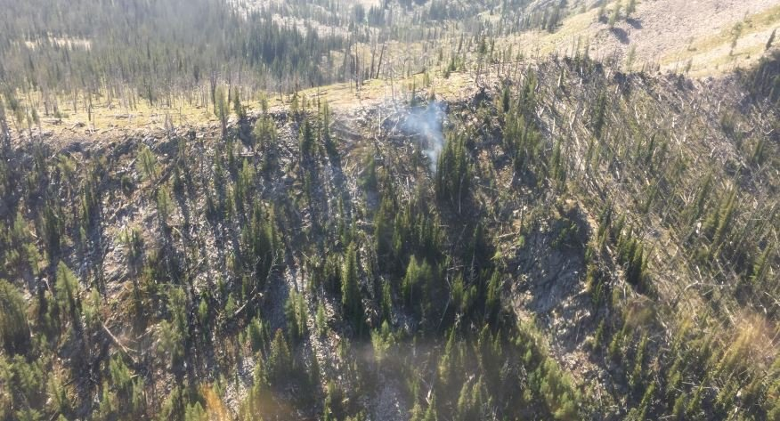 File photo: Goat Mountain Fire in Frank Church Wilderness (courtesy BNF)