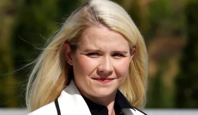 (AP Photo/Rick Bowmer, File). FILE - In this Sept. 13, 2018, file photo, Elizabeth Smart arrives for a news conference in Salt Lake City.