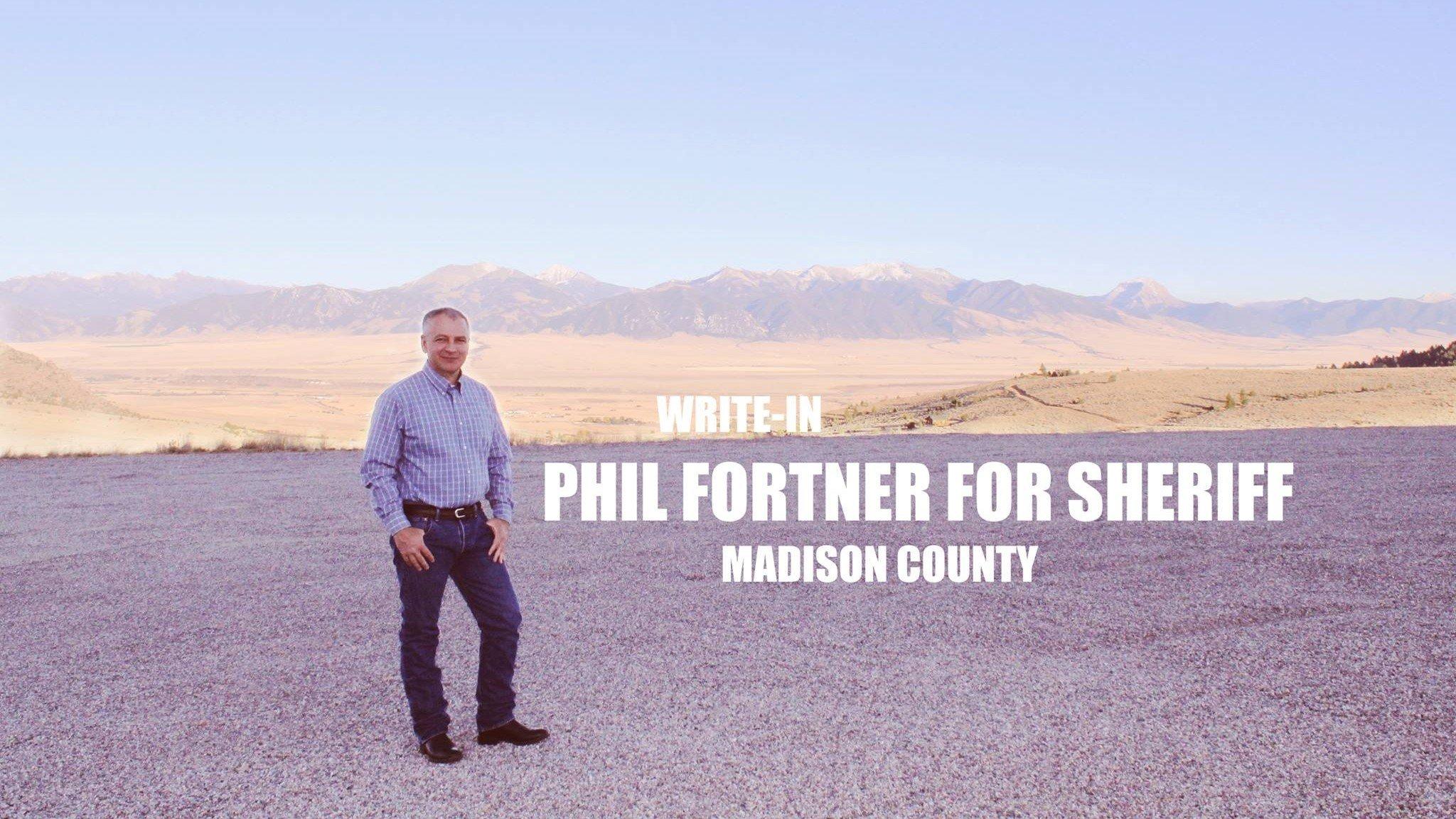 Credit: Phil Fortner for Sheriff