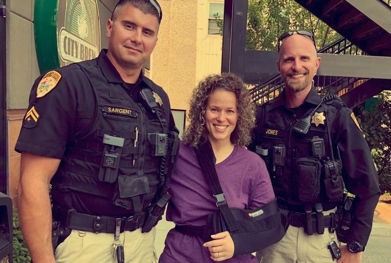 Woman credits missoula sheriff 39 s deputies with saving her - Tanya zimmerman ...